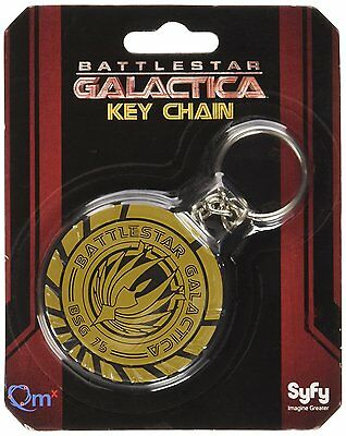 NEW ..  Battlestar Galactica Keychain ..  FREE CANADA SHIPPING   New In Package
