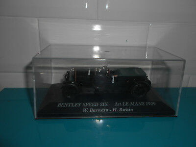 24.09.17.1 Bentley speed six 1st Le Mans 1929 Barnato Birkin IXO Altaya 1/43