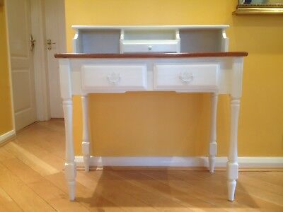 Hall Desk hand painted shabby chic