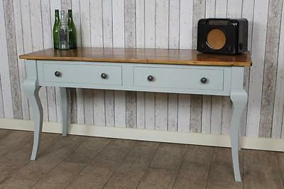 Reclaimed 5Ft Rustic Pine Sideboard With Painted Farrow & Ball Base The Florence