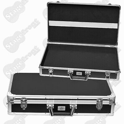 Effects Pedal Road Case Large Size Fits 10 Pedals With Removable Lid Pc312 *New*