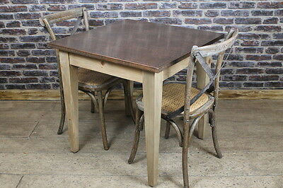Copper Top Cafe Table Industrial Style Bar  Restaurant Table 70X70 Cm Table