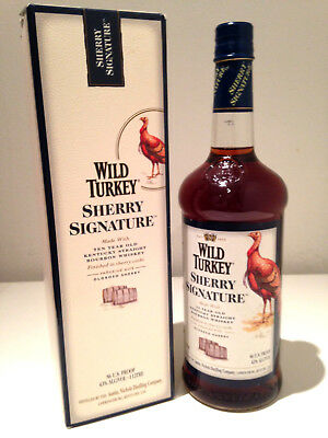 Wild Turkey 10 Year Old Sherry Signature Kentucky Bourbon Whiskey 1000mL