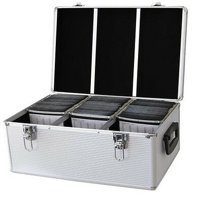 Valise DJ Coffret DynaSun CD510 Flight Case Alu pour 510 CD DVD Modulable + clés