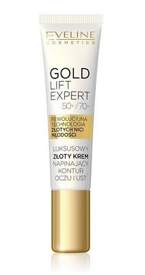 Eveline Cosmetics Gold Lift Expert Gold Eye And Eyelid Cream With 24K Gold