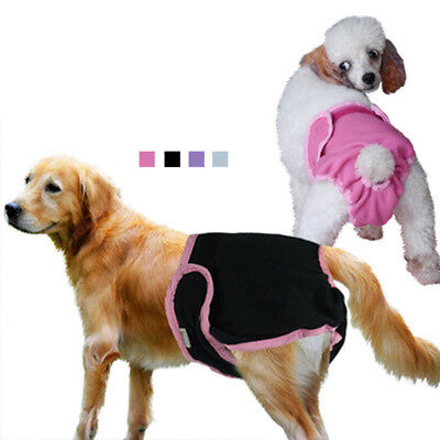 Pet Dog Physiological Pants Diaper Panties Underwear for Female Dog Washable