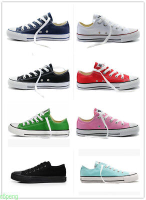 Women Men ALL STARs Chuck Taylor Ox Low High Top Canvas Sneakers Shoes casual