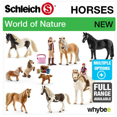 New! Schleich 2017 Range Of Horses Ponies Figures Farmyard Toys & Horse Figurine