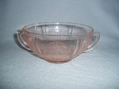 Pink American Sweetheart CREAM SOUP MacBeth Evans Depression Glass Free U.S Ship