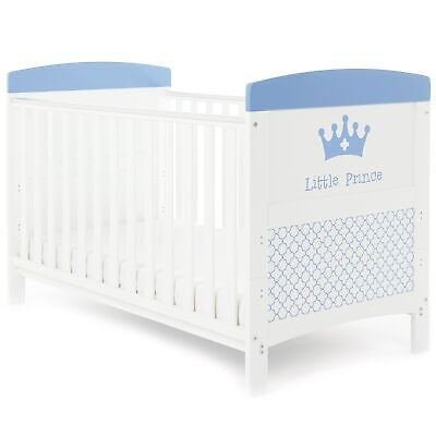 Obaby Grace Inspire Baby Cot Bed | From Birth to Approx 4 Years | Little Prince