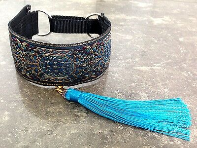 Martingale greyhound collar whippet borzoi tassel