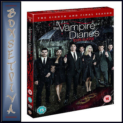 The Vampire Diaries - Complete Eighth Season - Season 8 Final  *brand New Dvd***
