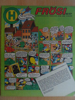 FRÖSI 10 - 1987 (2)  Pioniermagazin Comic - Tom Sawyer  DDR