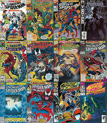 Amazing Spider-Man Venom Carnage Ghost Rider 12 issue Collector gift Set MARVEL