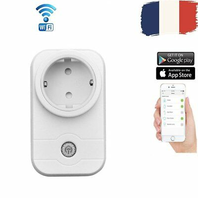 Prise de Courant 2.4GHz Smart Switch Interrupteur Domotique WiFi télécommande