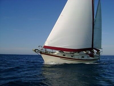 Pearson 37 Ft  Sailing  Ketch  Yacht  Cruiser   Situated At Lowestoft Marina,