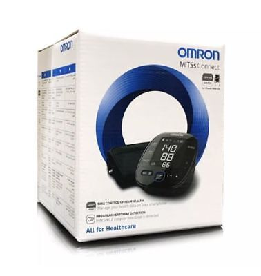 OMRON MIT5s Connect Upper Arm Blood Pressure Monitor Brand New