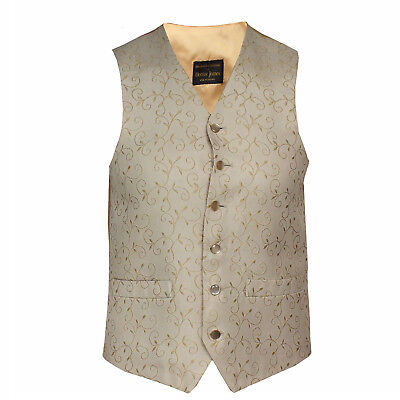 Hector James Men's Waistcoat Wedding Or Formal Occasion Rrp £65 Size 44R Ex Hire