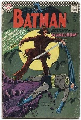 Batman (1940) #189 3.0 Gd/vg 1St Silver Age App Of Scarecrow