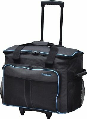 foolsGold Pro Sewing Machine Bag Trolley Case on Wheels fits Janome, Brother etc
