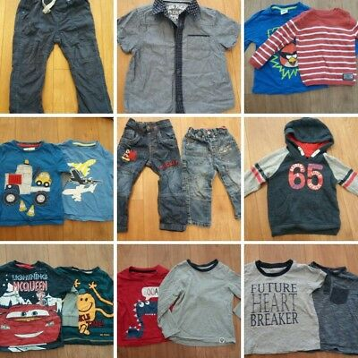 Boys Clothes Bundle 18-24 Months Mothercare George Tu Next Primark 18 Items