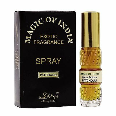 Magic Of India Patchouli Natural Exotic Fragrance Perfume Spray 20 ml