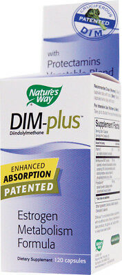 DIM-plus, Nature's Way, 60 capsules