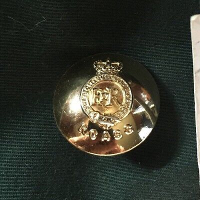 ROYAL CANADIAN ARMY SERVICE CORPS large Button GAUNT MONTRE Canada 1953-68 RCASC