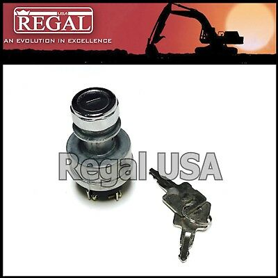 9G7641 Ignition Switch w/two keys for Caterpillar (0959269, 0962086, 9G-7641)