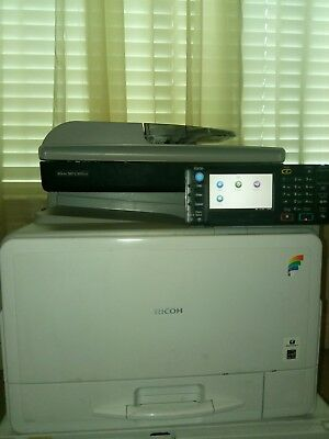 Ricoh Mp C305Spf Color Network Copier 9K Copies