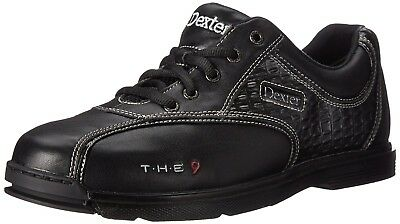 (US 12 (44.5)) - Men's Bowling Shoes Dexter the 9 with Sole/Hoe Genuine Leather