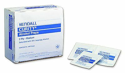 6 Boxes! Kendall Curity Alcohol Prep Pad, Medium, Sterile, 5750 *FREE SHIPPING!*