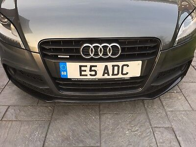 Registration Plate E5 ADC