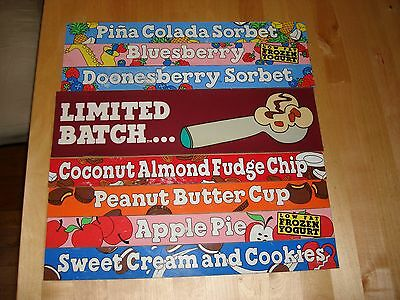 Ben & Jerry's Official Scoop Shop Magnet Retired Flavors Peanut Butter Cup Cafc