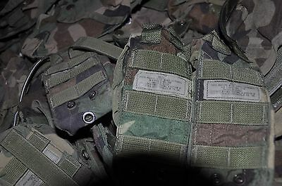 Lot of 50 Molle II Woodland Camo Mag Pouches, Single and Double 30 Round