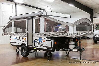 New 2017 Model RLT12STSB Real Lite Off Road Pop-Up Camping Trailer Never Used