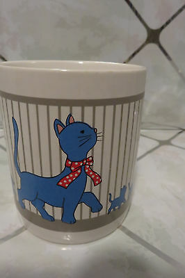 """Momma Cat & Her Kittens 3.75"""" Coffee Mug Just Adorable"""