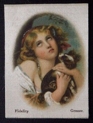 FIDELITY by GREUZE Superior Quality Tobacco Silk issued in 1912
