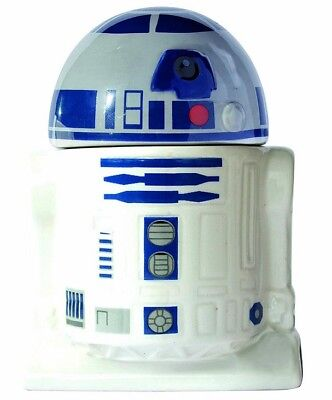 Joy Toy Star Wars R2-D2 Eierbecher mit Salzstreuer