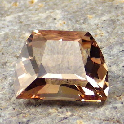COPPER RED-WALNUT OREGON SUNSTONE 3.41Ct FLAWLESS-FROM PANA MINE-FOR TOP JEWELRY