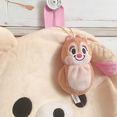 Japan Disney Dale (from Chip n' Dale) Beanie Plushy Keychain FREE 3 DAY SHIPPING