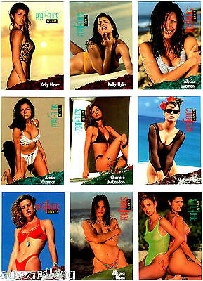 Portfolio's Secret 1994 - Complete Card + Chase Sets (54) Swimsuit Pinup Sexy NM