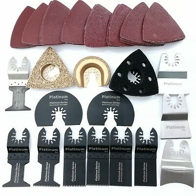 54 pc mix saw blade of oscillating multi tool for fein milwaukee ridgid Ryobi