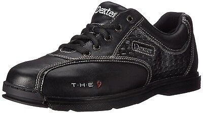 (7.5 US) - Men's Bowling Shoes Dexter the 9 with Sole/Hoe Genuine Leather