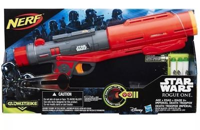 Star Wars Rogue One NERF Imperial Death Trooper Deluxe Blaster - NEW