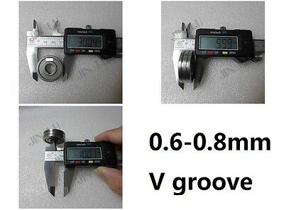 """0.6-0.8/0.9 V Groove Mig Welder Wire Feed Drive Roller Parts .023""""-.030"""" MIG-160"""