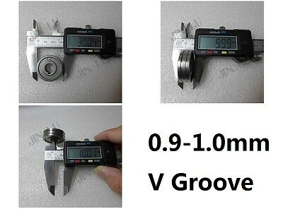 """0.9-1.0 V Groove Mig Welder Wire Feed Drive Roller Parts .035""""-.040"""" MIG-160"""