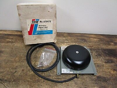NOS Vintage Driveway Service Gas Station Signal Bell
