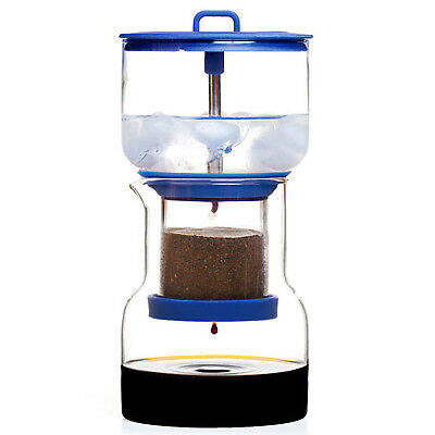 NEW Bruer Blue Cold Brew Slow Drip Coffee Maker System