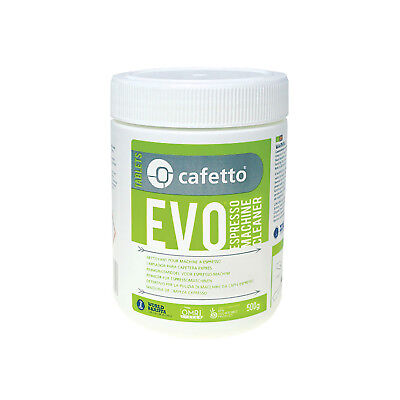 NEW Cafetto 500g Evo Organic Espresso Clean Coffee Machine Group Cleaning Powder